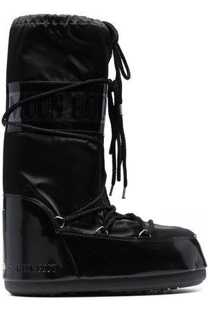 Moon Boot Men Snow Boots - Icon satin snow boots