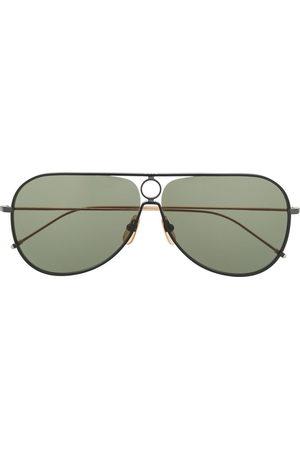Thom Browne TB115 Aviator Sunglasses