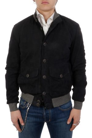 THE JACK LEATHERS MEN'S POLOGSUE100 SUEDE OUTERWEAR JACKET
