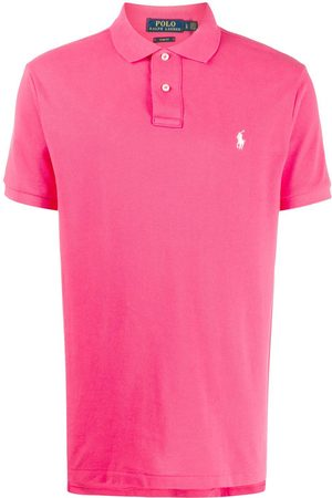 Ralph Lauren MEN'S 710795080012 FUCHSIA COTTON POLO SHIRT