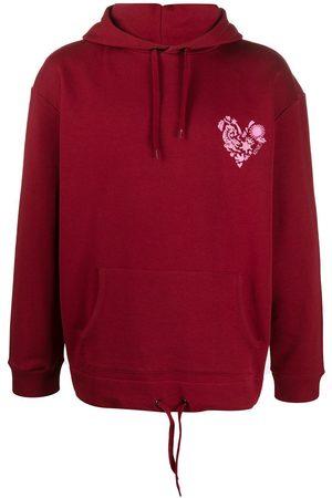 Kenzo Men Sweatshirts - MEN'S FA55SW5624Z823 BURGUNDY COTTON SWEATSHIRT