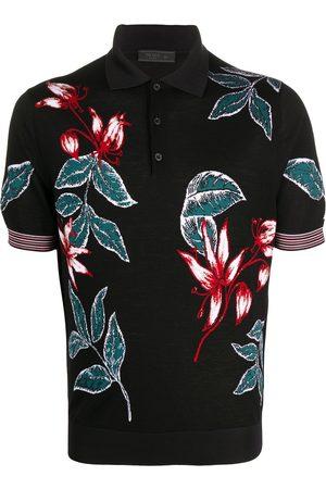 Prada Men Polo Shirts - MEN'S UMB005S2011S1RF0002 WOOL POLO SHIRT