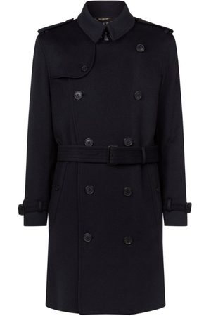 Burberry Wool-Cashmere Kensington Trench Coat