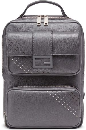 Fendi MEN'S 7VZ047A9ZFF10VX LEATHER BACKPACK