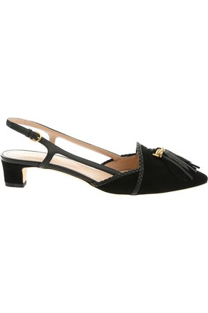 Tod's WOMEN'S XXW36B0AS90D8WB999 LEATHER SANDALS