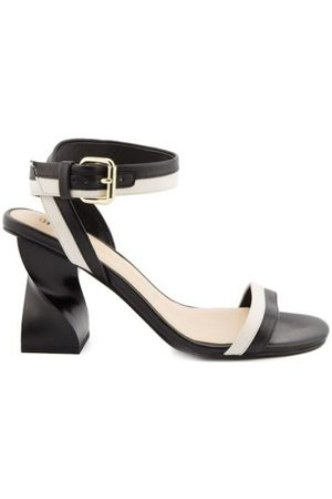 Opening Ceremony WOMEN'S SMOCW603500BLACK LEATHER SANDALS