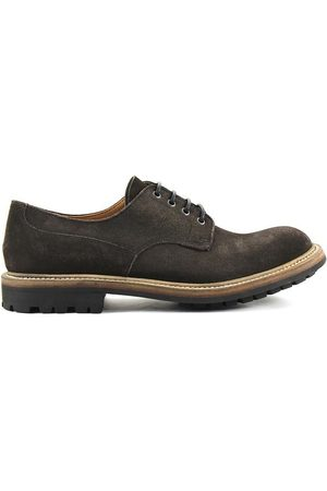 Church's WOMEN'S 8846BROWN SUEDE LACE-UP SHOES