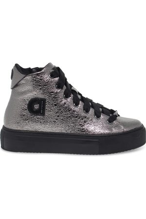 Ruco Line RUCO LINE WOMEN'S RUCO2819CA LEATHER HI TOP SNEAKERS
