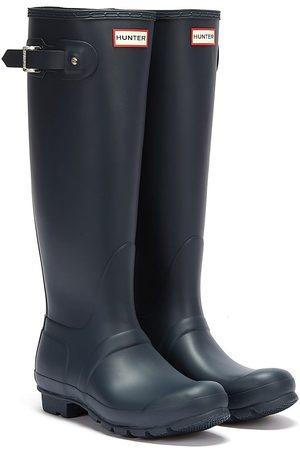 Hunter Original Womens Tall Navy Rubber Wellington Boots