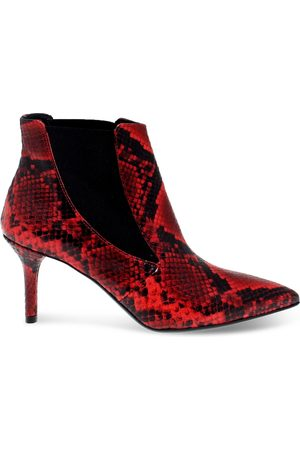 Janet&Janet Women Ankle Boots - WOMEN'S JANET44453PR LEATHER ANKLE BOOTS