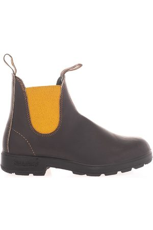 Blundstone WOMEN'S 1919BROWN LEATHER ANKLE BOOTS