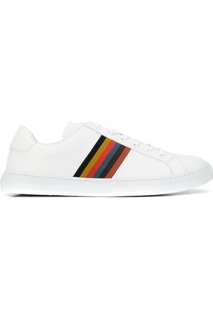 Paul Smith MEN'S M1SHAN01AMOLV01 LEATHER SNEAKERS