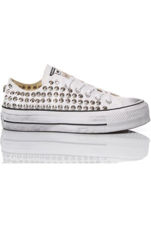 Converse WOMEN'S OXBORCHIEBIANCA176 FABRIC SNEAKERS