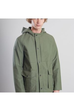 L'Exception Paris Waterproof Japanese Parka Khaki
