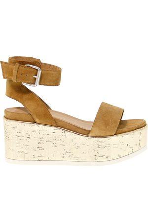 Janet Sport Women Sandals - WOMEN'S JSPO41837 SUEDE SANDALS