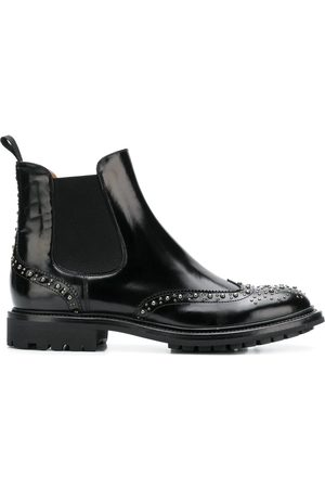 Church's WOMEN'S DT00769EMF0AAB LEATHER ANKLE BOOTS