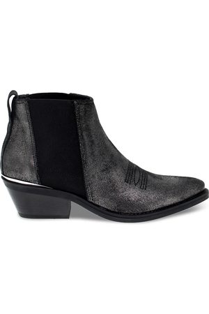 Janet&Janet Women Ankle Boots - WOMEN'S JANET44213F LEATHER ANKLE BOOTS