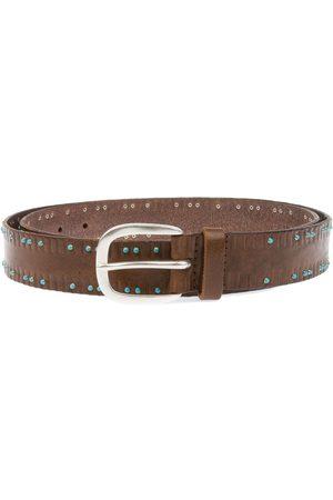 Orciani Men Belts - MEN'S U07637BROWN LEATHER BELT
