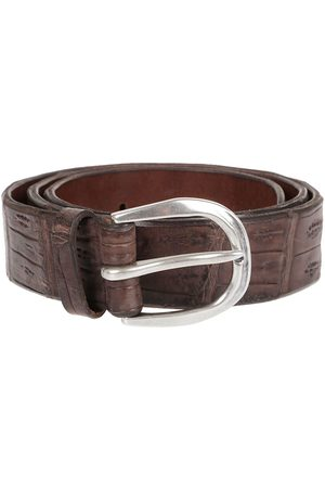 Orciani MEN'S U07642EBANO LEATHER BELT