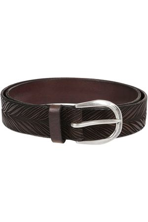 Orciani MEN'S U07861EBANO LEATHER BELT