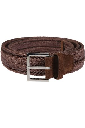 Orciani MEN'S U07369TERRA CANVAS BELT