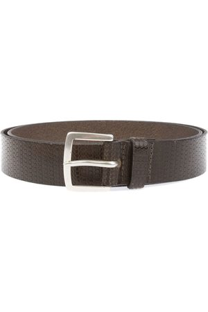 Orciani MEN'S U07579BROWN LEATHER BELT