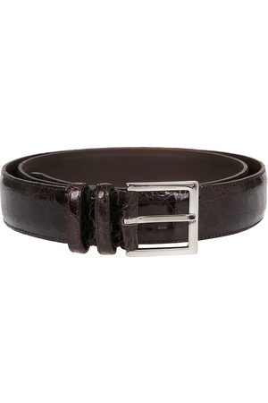 Orciani MEN'S U07753TESTAMORO LEATHER BELT
