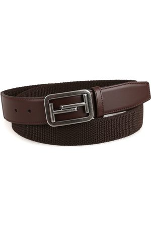 Tod's MEN'S XCMCQE70100HGRS800 LEATHER BELT