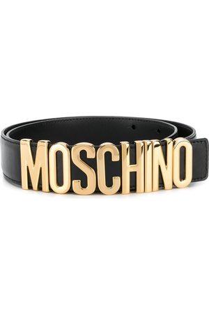 Moschino Men Belts - MEN'S A801280013555 LEATHER BELT