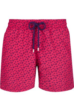 Vilebrequin Moorea Swim Short Micro Ronde des Tortues Goosberry