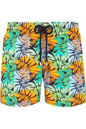 Vilebrequin Men Swim Shorts - Moorise Swim Short Stretch Jungle Midnight