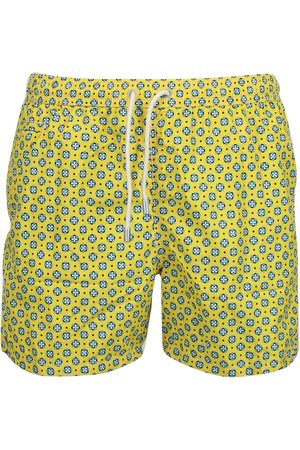 MC2 SAINT BARTH MEN'S LIGHTINGMICROFANTASYRTRP POLYESTER TRUNKS