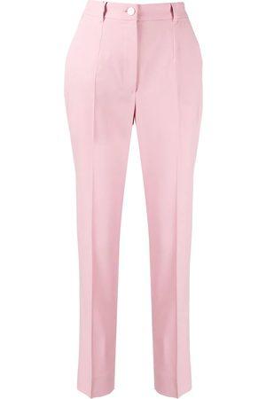 Dolce & Gabbana Women Formal Trousers - DOLCE E GABBANA WOMEN'S FTBPATFUBAJF2528 WOOL PANTS