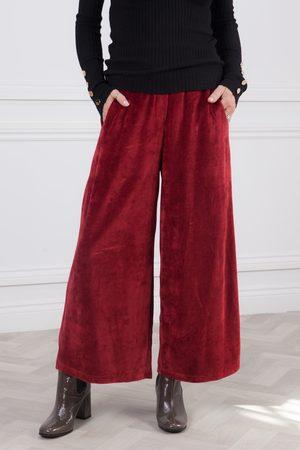 CREA Velour Wide Pants