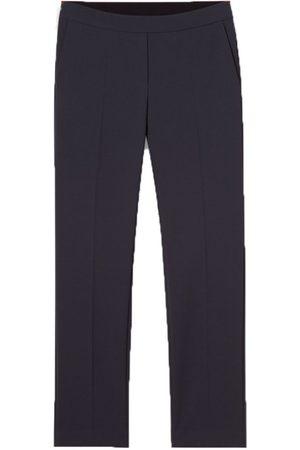 Luisa Cerano Navy Trousers 628196/2056