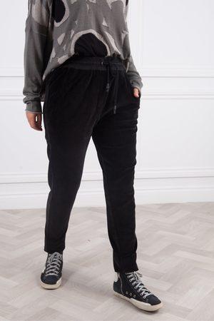 Crea Concept Velour Narrow Pants