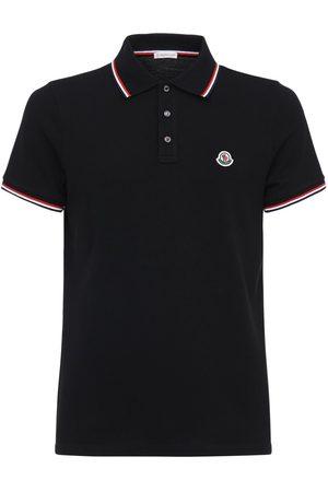 Moncler Cotton Piquet Polo Shirt