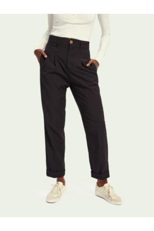 Scotch&Soda Tailored regular length high waist pants