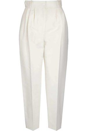 Alexander McQueen WOMEN'S 577572QEABL9005 COTTON PANTS