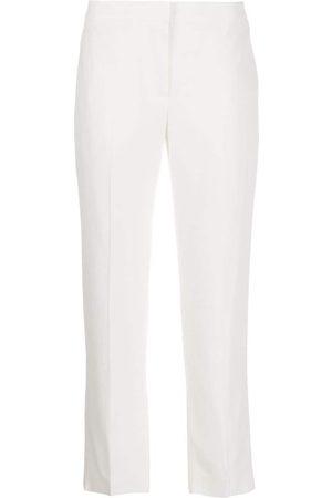 Alexander McQueen WOMEN'S 584968QEAAA9007 ACETATE PANTS