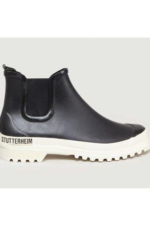Stutterheim Rainwalker Chelsea Boots White