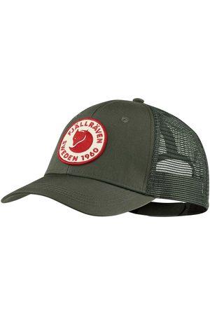 Fj llr ven Men Hats - Fjallraven 1960 Logo Langtradarkeps Cap - Deep Forest Size: S/M, Colou