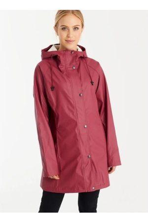 Ilse Jacobsen Rain87 Raincoat Maroon
