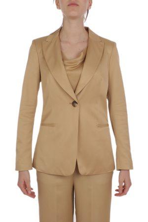 KILTIE Women Blazers - WOMEN'S KB037MT4249209 BEIGE VISCOSE BLAZER