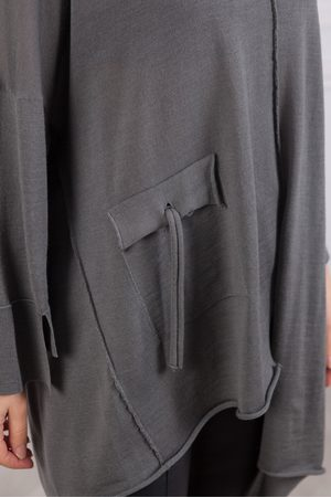 CREA Knit Tunic With Pocket