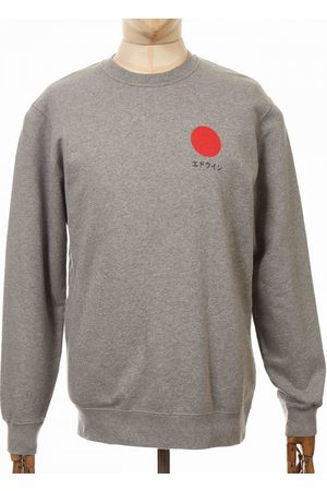 Edwin Men Trousers - Jeans Japanese Sun Sweatshirt - Mid Marl Colour: Mid M