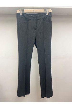 Luisa Cerano Black Grey Trousers 648017/2016 195