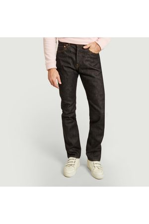 Momotaro Jeans Natural tapered 15.7 oz jean indigo