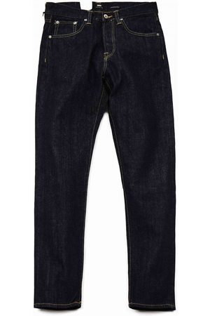 Edwin Jeans ED-45 Loose Tapered Red Selvedge Denim - Rinsed