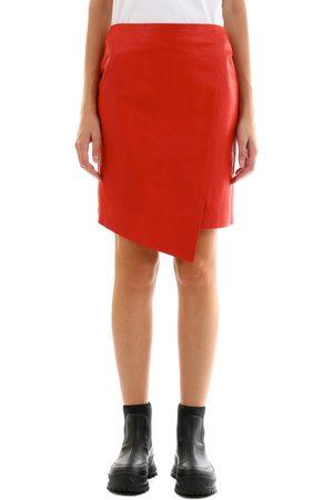 arma leder Leather Miniskirt